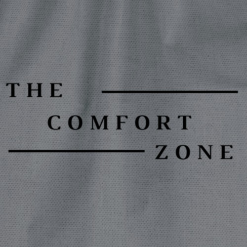 Logo zwart The Comfort Zone - Gymtas