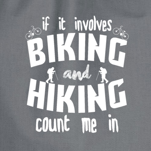 biking and hiking - Turnbeutel