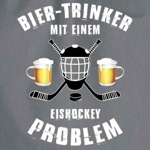 Bier-Trinker mit einem Eishockeyproblem!! - Turnbeutel