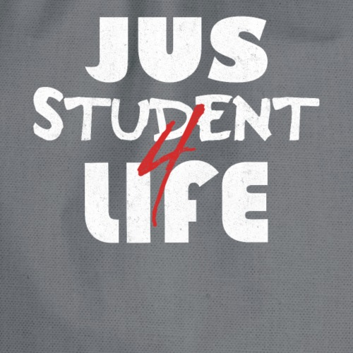 Jus-Student for Life - Langzeitstudent T-shirt - Turnbeutel