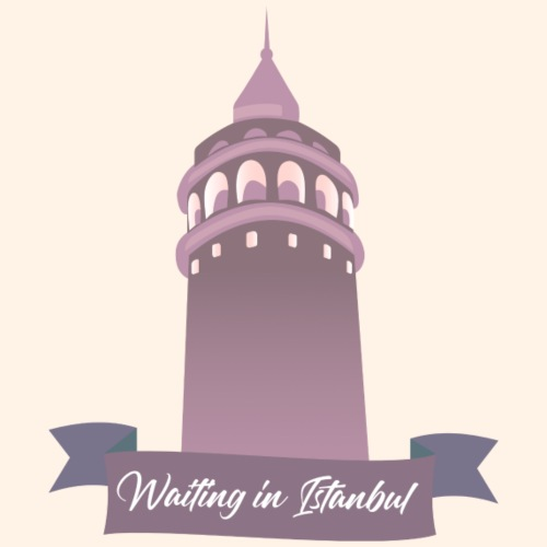Waiting in Istanbul - Turnbeutel