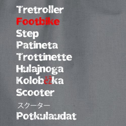Tretroller International - Turnbeutel