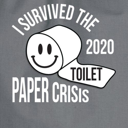 I Survived the 2020 Toilet Paper Crisis - Sac de sport léger