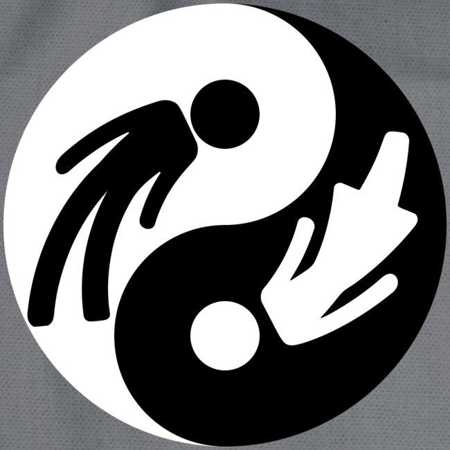 Yin Yang Male Female Symbol Duality Print