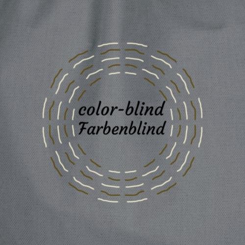 Farbenblind / color-blind - Turnbeutel