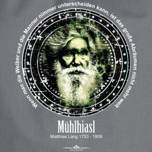 Mühlhiasl, Matthias Lang, der Seher - Turnbeutel