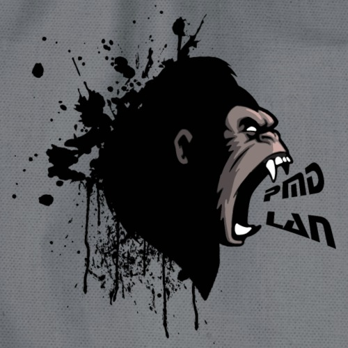 PMD ANGRY APE OF RAGE QUIT - Drawstring Bag