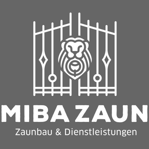 MIBA + Zaunbau (weiß) - Turnbeutel