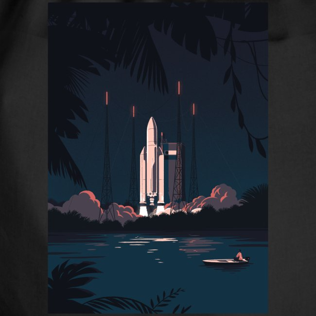 Ariane 5 - Launching By Tom Haugomat