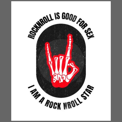 Rocknroll is Good For Sex - Sac de sport léger
