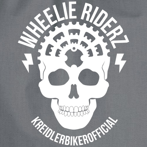 KREIDLERBIKER OFFICIAL WHITE - Turnbeutel