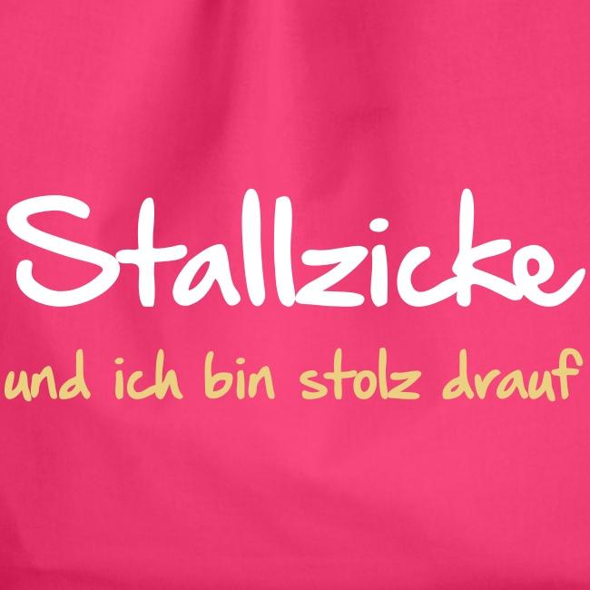 Vorschau: Stallzicke - Turnbeutel