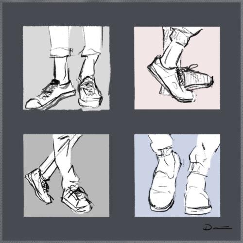 Shoes - Drawstring Bag
