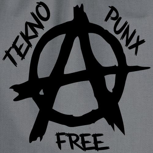 Anarchy free tekno punx - Turnbeutel