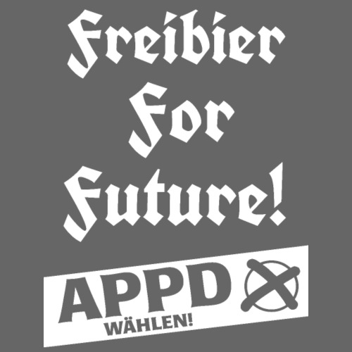 Freibier for future 2 - Turnbeutel