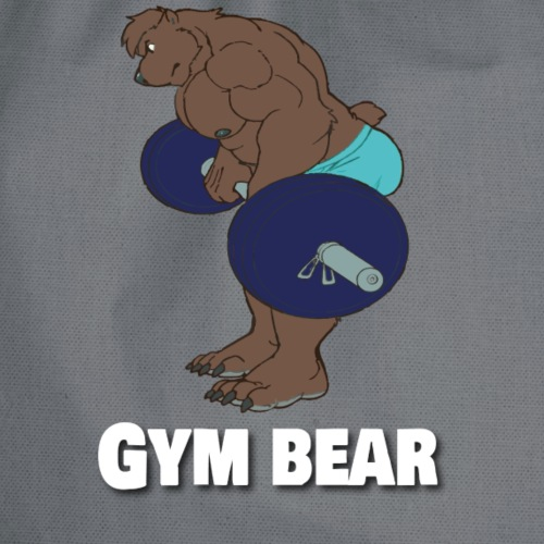Gym Bear - Gymtas