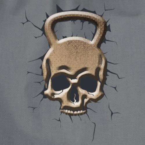 Kettlebel Crâne Masculin - Sac de sport léger