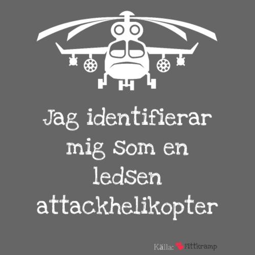 Attackhelikopter - Gymnastikpåse