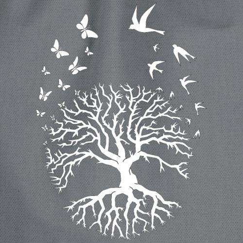 Tree of life arbre de vie zen relaxation blanc - Sac de sport léger