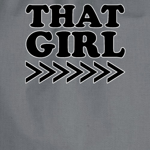 That Girl - Drawstring Bag
