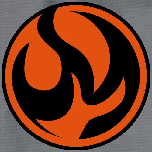 Feuer Logo - Turnbeutel