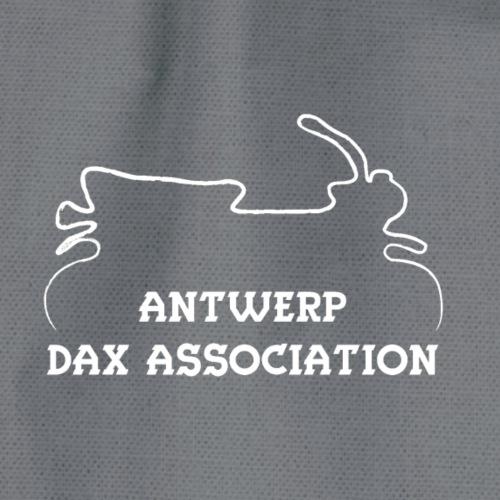 ADA DAX Logo Klein Wit - Gymtas