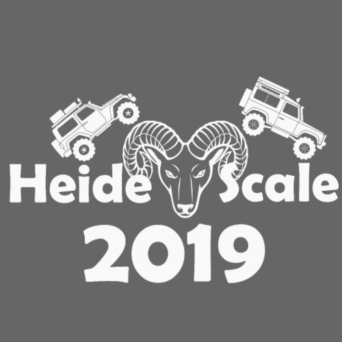 HeideScale 2019 weisser Aufdruck - Turnbeutel