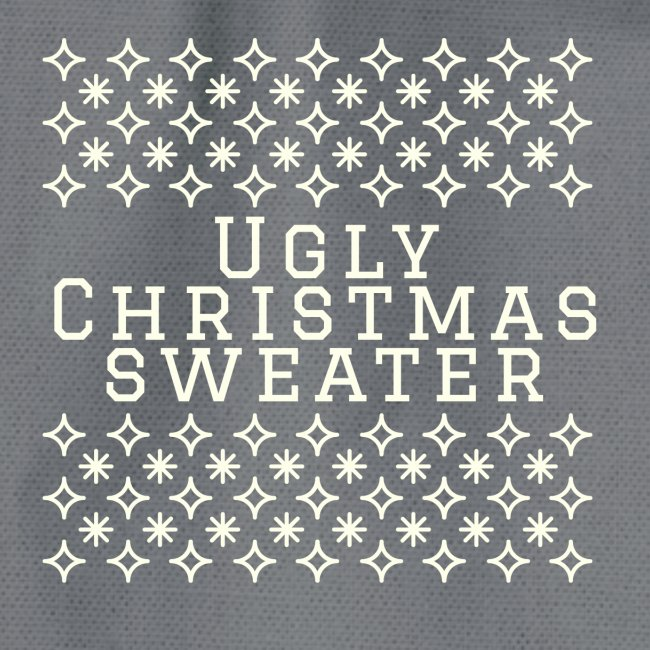Ugly Christmas sweater, maglione natalizio festoso