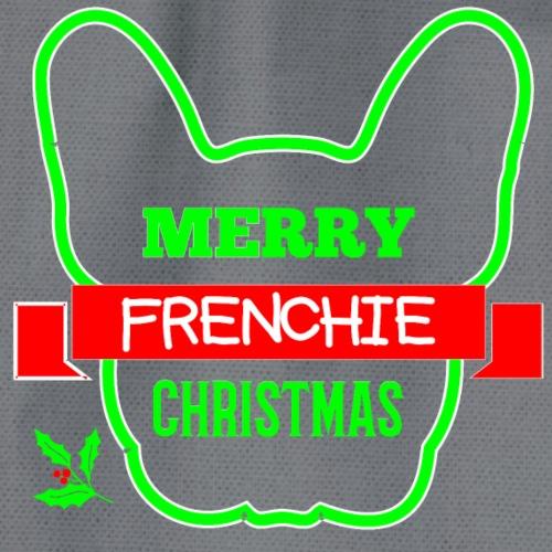 Frenchie Xmas 1 - Turnbeutel