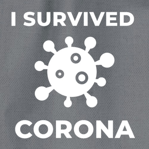 I survived Corona (DR23) - Turnbeutel