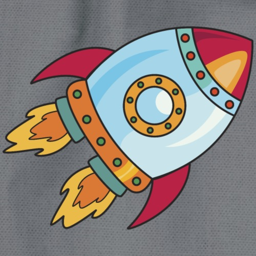 Rocket for baby - Drawstring Bag