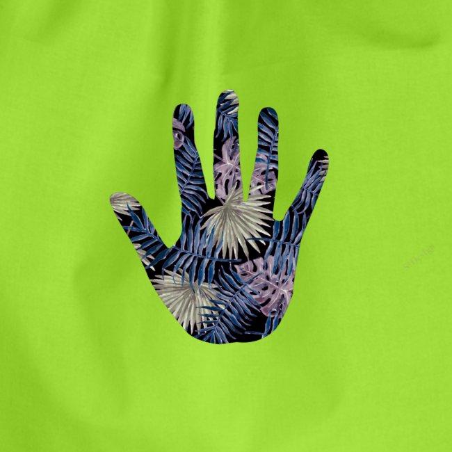Exotic Flower Hand