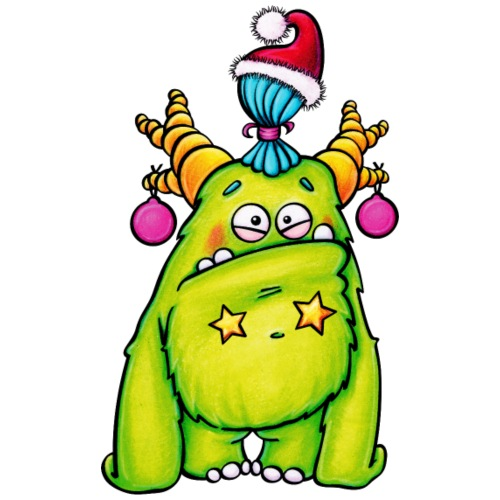 christmas monster - Turnbeutel