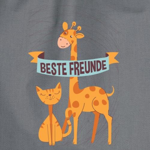 Beste Freunde - Turnbeutel