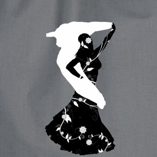 Bellydancer with veil