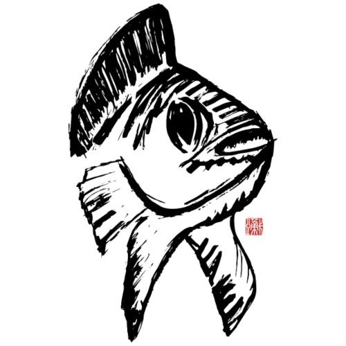 Koi Fisch Glücksbringer - Turnbeutel