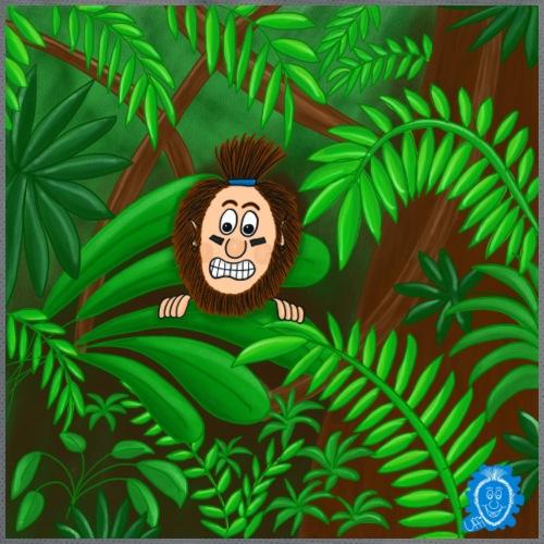 Uffi im Dschungel - Turnbeutel