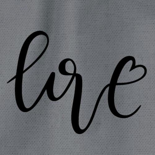 Love Herz - Turnbeutel
