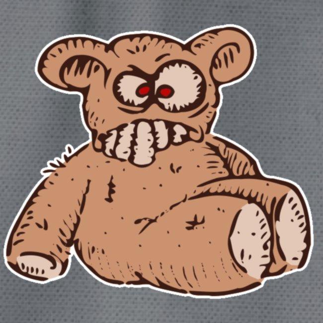 "Bad Peluche ""Crazy Teddy"" (petit)"