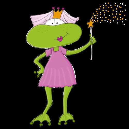 Sei kein Frosch - Froschfee - Turnbeutel