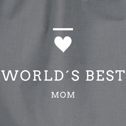 WORLD´S BEST MOM - Turnbeutel