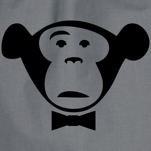 Monkey Media Official Logo - Turnbeutel