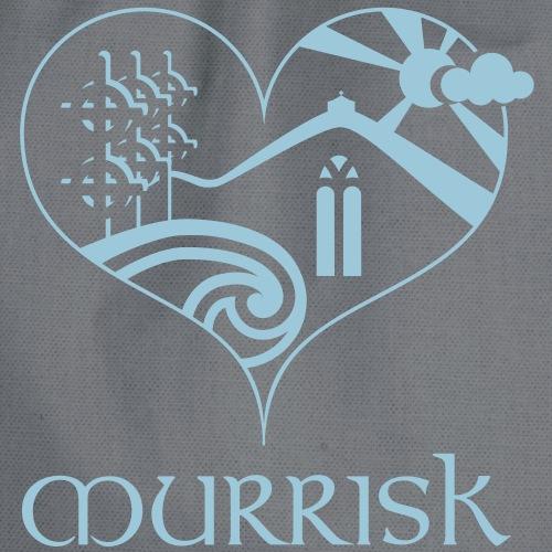 Croagh Patrick in the heart of Murrisk Village - Drawstring Bag