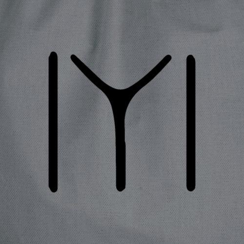 IYI T-Shirt, Kayi Boyu Symbol, Ertugrul Dirilis - Turnbeutel