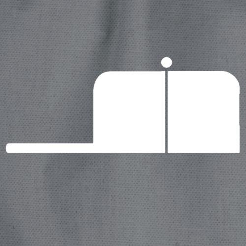 SigWood weiß - Turnbeutel