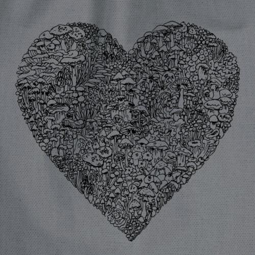 Liebe / Herz / love - Turnbeutel
