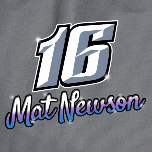 16 Mat Newson Brisca 2019 front - Drawstring Bag