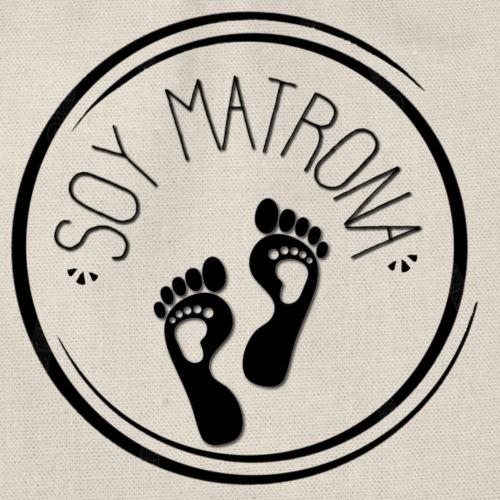 SELLO OFICIAL- Soy Matrona - Mochila saco