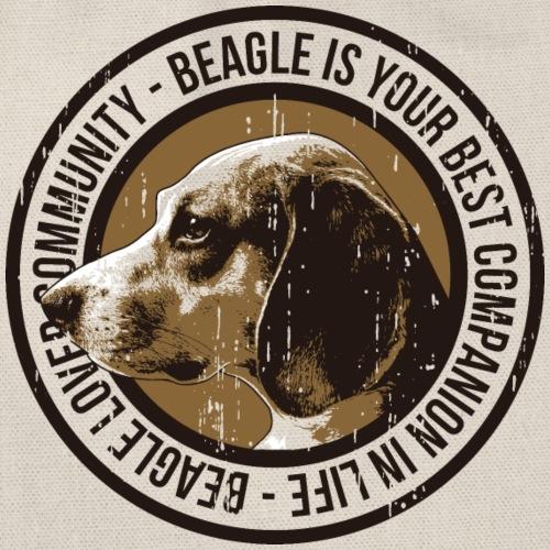 Mein Bester Freund ist der Beagle - Turnbeutel