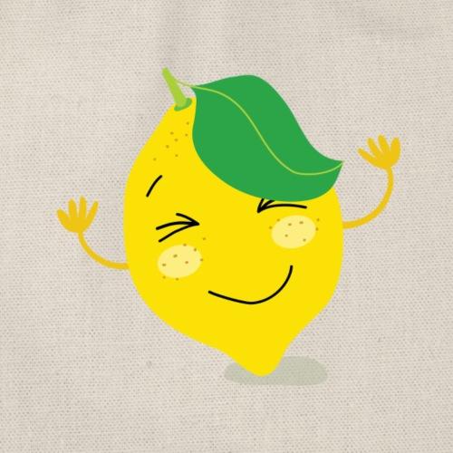 Fruchtige Zitrone - Turnbeutel